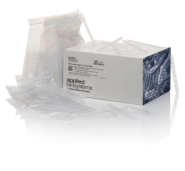 Applied Biosystems™MicroAmp™ Optical 8-Cap Strips 300 strips PCR Tubes
