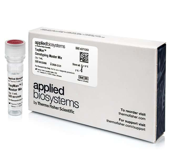 Applied BiosystemsTaqMan Genotyping Master Mix 1 x 1mL:PCR Equipment and