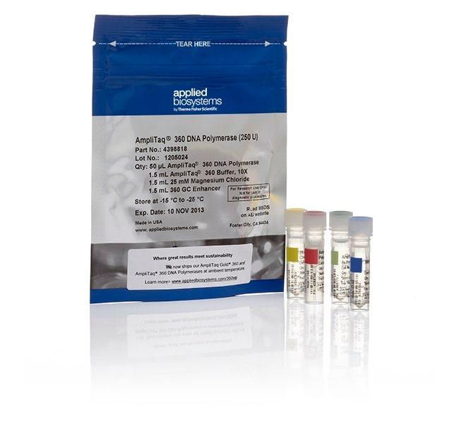 Applied Biosystems™AmpliTaq™ 360 DNA Polymerase 5000 units Applied Biosystems™AmpliTaq™ 360 DNA Polymerase