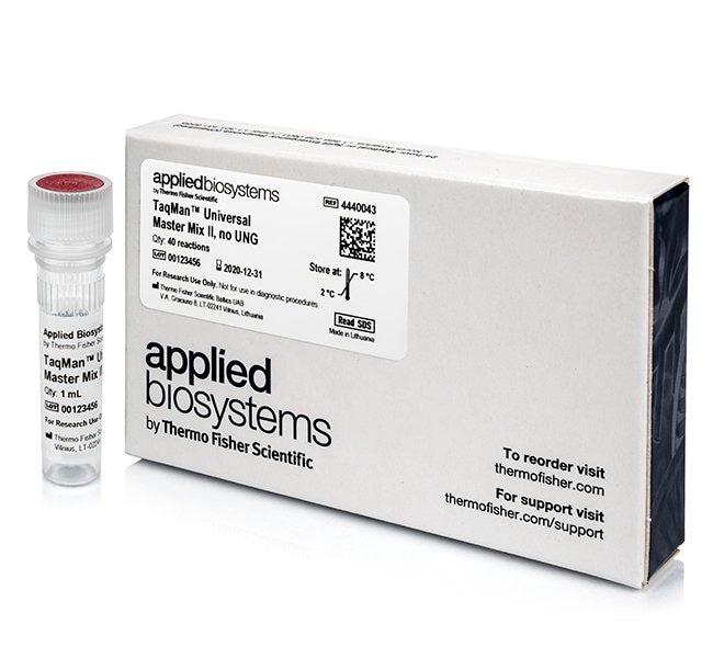 Applied Biosystems™TaqMan™ Universal Master Mix II, no UNG: Bioreagents Chemicals