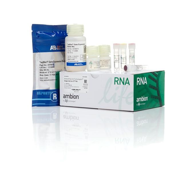 Invitrogen™Single Cell-to-CT™ qRT-PCR Kit 50 reactions Invitrogen™Single Cell-to-CT™ qRT-PCR Kit