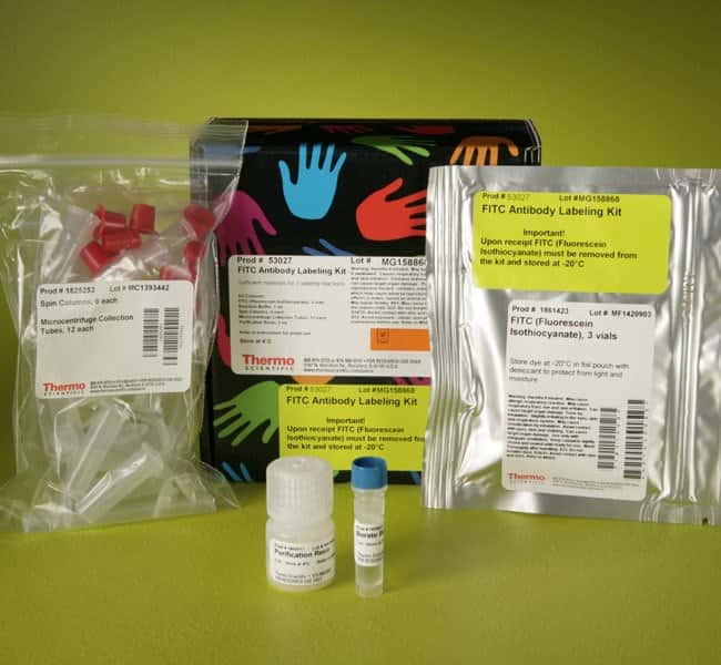Thermo Scientific Pierce FITC Antibody Labeling Kit FITC kit:Life Sciences