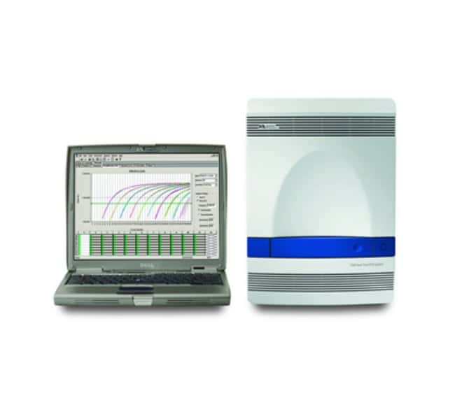 Applied Biosystems™ 7500 Real-Time PCR System, laptop