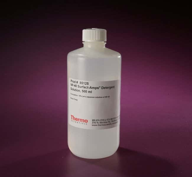 Thermo Scientific™NP-40 Surfact-Amps™ Detergent Solution NP-40 Surfact-Amps Detergent Solution; 500mL Thermo Scientific™NP-40 Surfact-Amps™ Detergent Solution