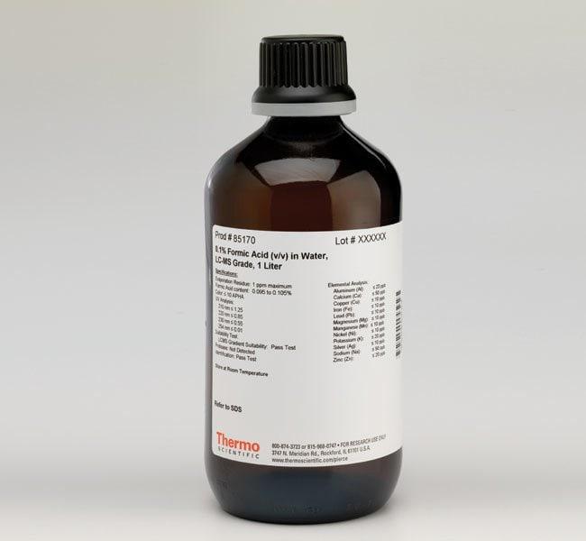 Thermo Scientific  Pierce  0.1% Formic Acid (v/v) in Water, LC-MS Grade