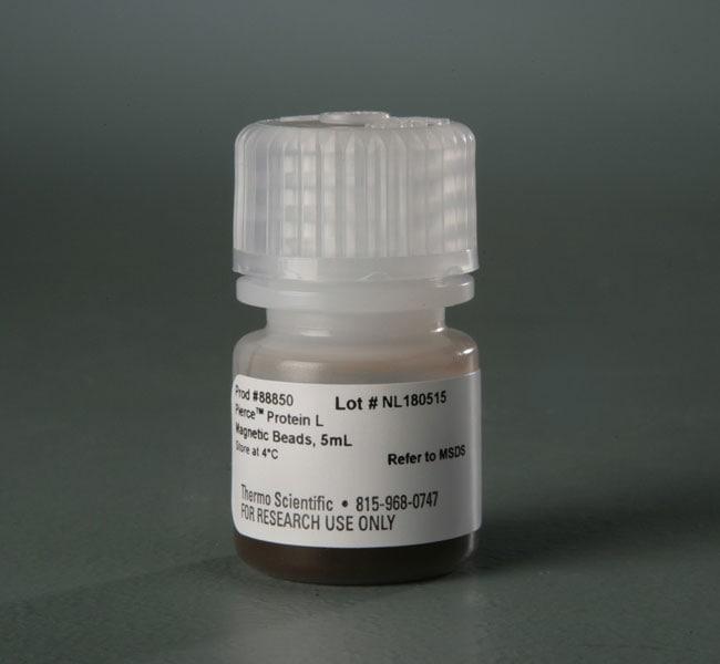 Thermo Scientific™Pierce™ Protein L Magnetic Beads Protein L Magnetic Beads; 5mL Thermo Scientific™Pierce™ Protein L Magnetic Beads