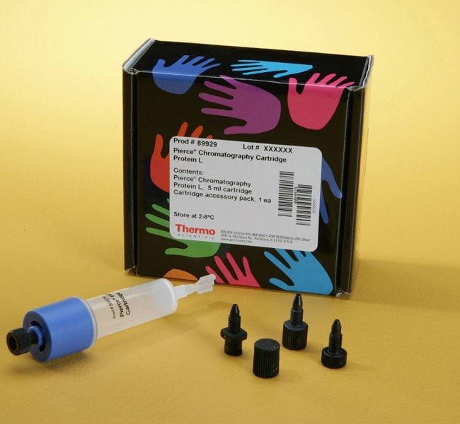 Thermo Scientific™Pierce™ Protein L Chromatography Cartridges Chromatography Cartridge, 5mL resin; 1 cartridge Thermo Scientific™Pierce™ Protein L Chromatography Cartridges