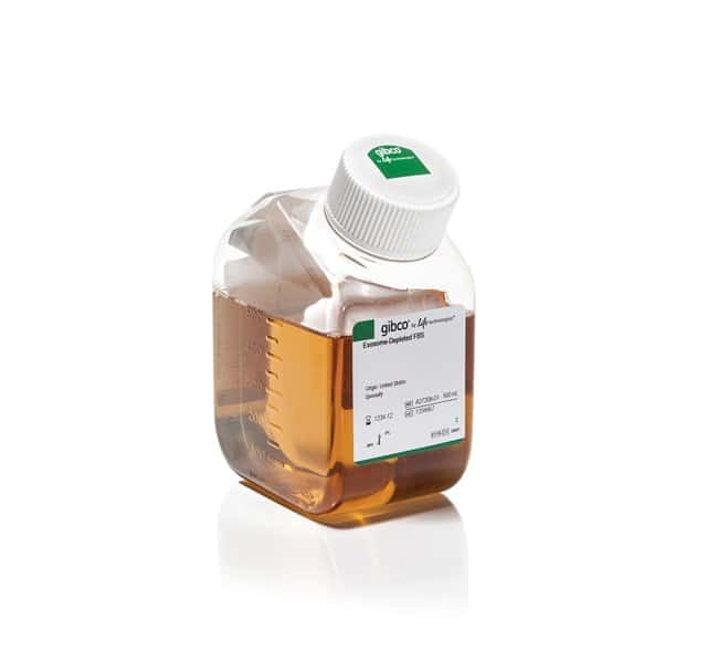 Gibco™ Fetal Bovine Serum, exosome-depleted, One Shot™ format Exosome-depleted FBS Products