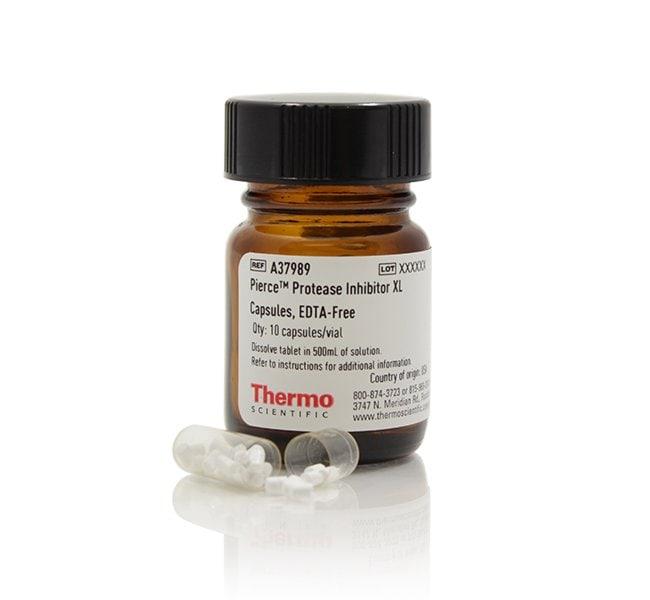 Thermo ScientificPierce Protease Inhibitor XL Capsules, EDTA-free Pierce
