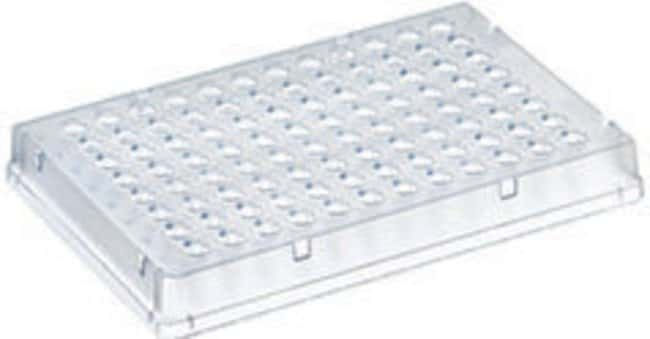 Thermo Scientific™ PCR Plate, 96-well, low profile, skirted Natural, without strengthing ribs, 25 plates Thermo Scientific™ PCR Plate, 96-well, low profile, skirted