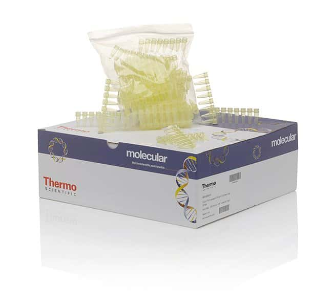 Thermo Scientific™ Tubes and Flat Caps, strips of 8, assorted colors 8-Tube strip; Yellow; w/o cap Thermo Scientific™ Tubes and Flat Caps, strips of 8, assorted colors