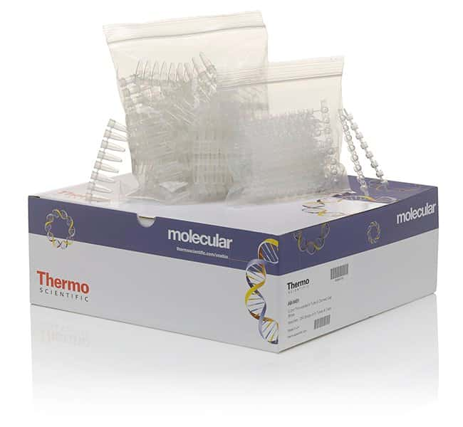 Thermo Scientific™ Tubes and Domed Caps, strips of 8