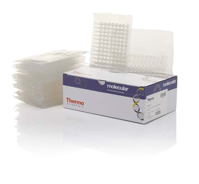 Thermo Scientific™ Tubes and Flat Caps, strips of 8, assorted colors 12-Tube strip; Natural; With flat caps; 10 packs of 8 Thermo Scientific™ Tubes and Flat Caps, strips of 8, assorted colors