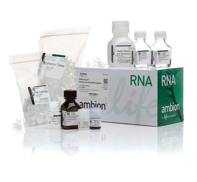 Invitrogen RNAqueous Total RNA Isolation Kit   Kit:Life Sciences