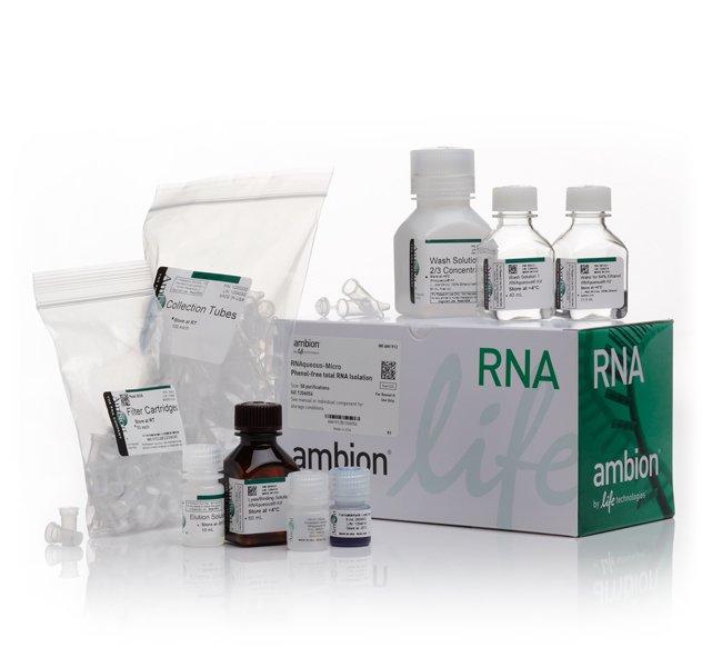 Invitrogen RNAqueous-Micro Total RNA Isolation Kit   50 preps:Life Sciences