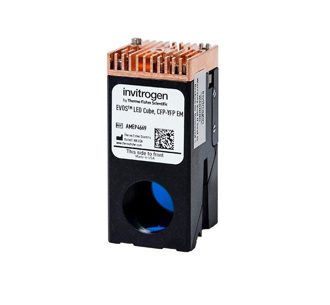 Invitrogen™EVOS™ Light Cube, CFP-YFP EM CFP-YFP; Excitation/Emission: 445/45nm, 542/27nm Accesorios para microscopios generales