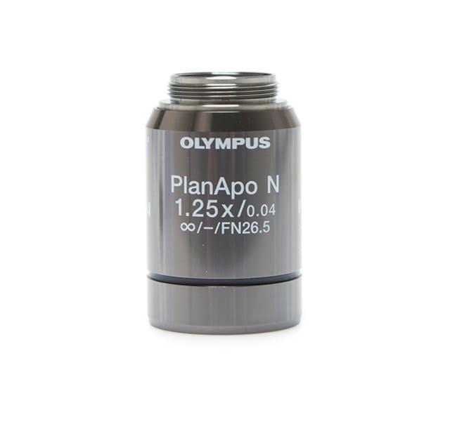 EVOS Olympus 1.25X Objective, apochromat, LWD  Magnification: 1.25X; Numerical