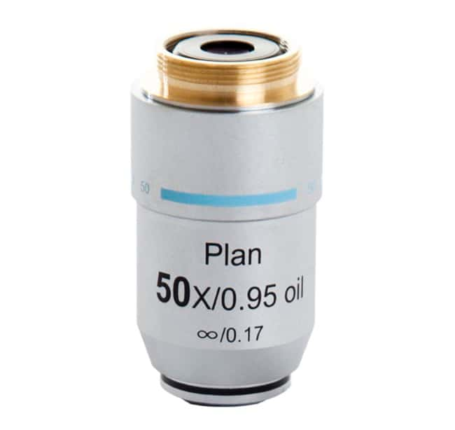EVOS EVOS 50X Oil Objective, achromat, coverslip-corrected Magnification: