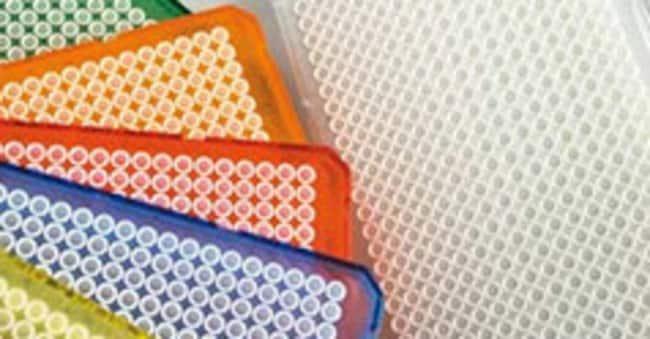 Thermo Scientific™Armadillo PCR Plate, 384-well, green, white wells Green skirt; White well Placas de PCR de 384 pocillos