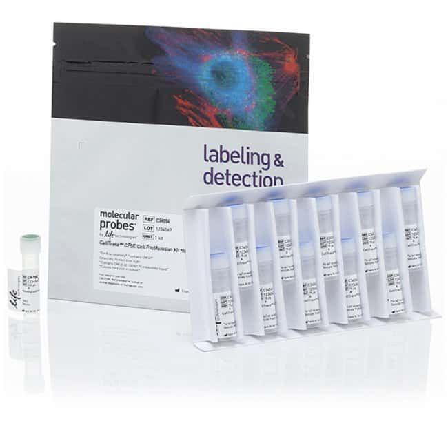 Invitrogen™ CellTrace™ CFSE Cell Proliferation Kit, for flow cytometry 180 réactions Invitrogen™ CellTrace™ CFSE Cell Proliferation Kit, for flow cytometry