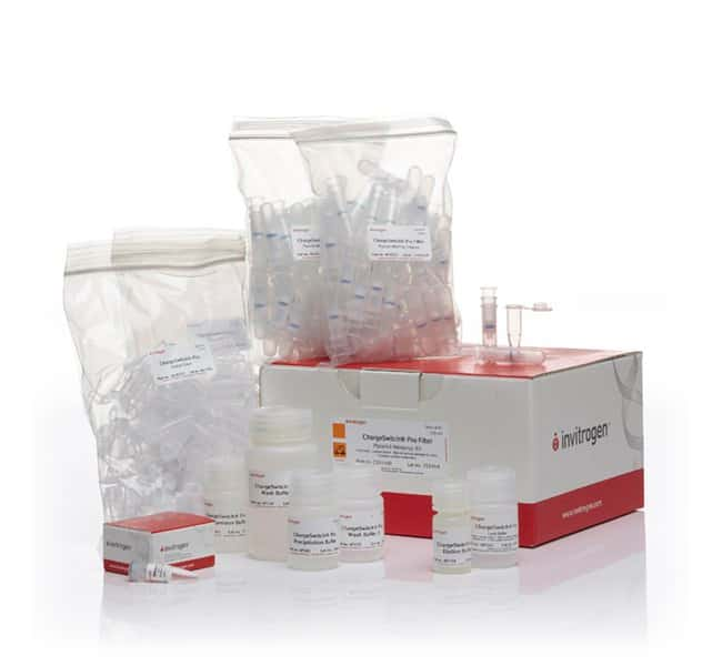 Invitrogen™Chargeswitch™ Pro Filter Plasmid Mini Kit 100 preps Invitrogen™Chargeswitch™ Pro Filter Plasmid Mini Kit