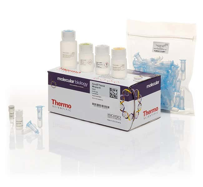 Thermo Scientific™ GeneJET Plasmid Miniprep Kit For 50 preps Thermo Scientific™ GeneJET Plasmid Miniprep Kit