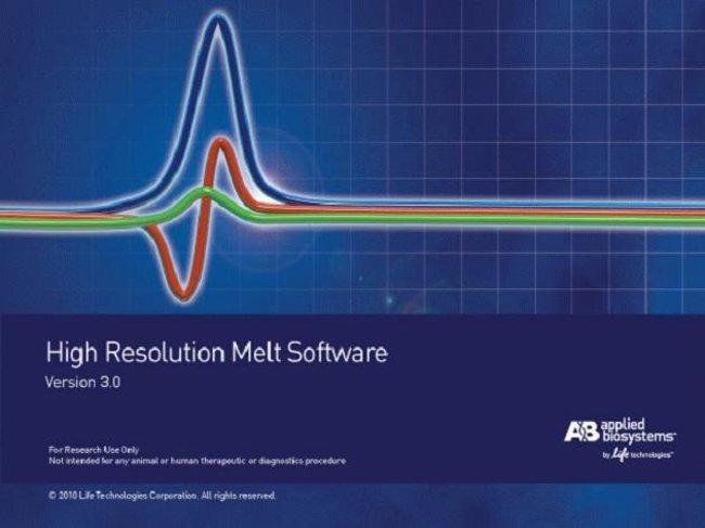 Applied Biosystems™High Resolution Melt Software v3.0.1 1licence Applied Biosystems™High Resolution Melt Software v3.0.1