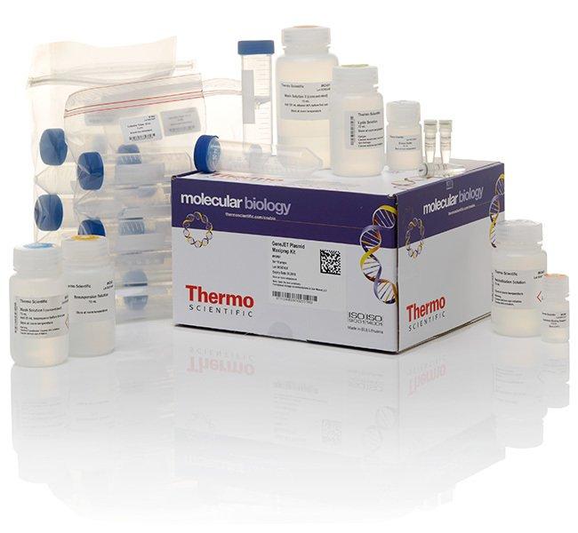 Thermo Scientific™GeneJET Plasmid Maxiprep Kit Für 10 Präparate Thermo Scientific™GeneJET Plasmid Maxiprep Kit