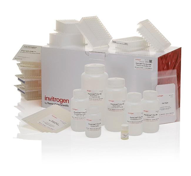 Invitrogen&trade;&nbsp;PureLink&trade; <i>Pro</i> Quick96 Plasmid Purification Kit 1 Kit, 4 x 96 preps Invitrogen&trade;&nbsp;PureLink&trade; <i>Pro</i> Quick96 Plasmid Purification Kit