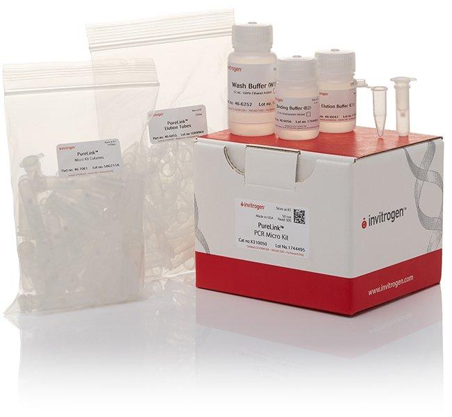 Invitrogen™PureLink™ PCR Micro Kit 50 preps Invitrogen™PureLink™ PCR Micro Kit