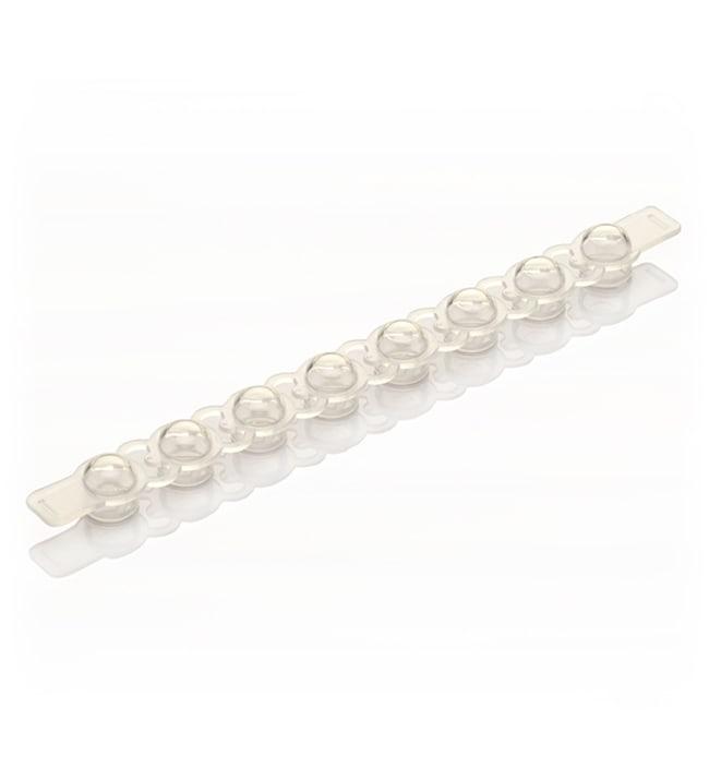 Applied Biosystems™MicroAmp™ 8-Cap Strip, clear 300 strips Applied Biosystems™MicroAmp™ 8-Cap Strip, clear