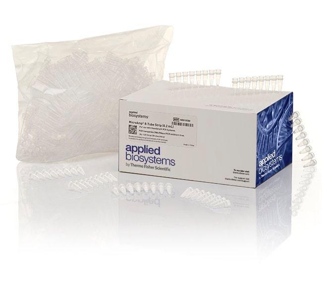 Applied Biosystems™MicroAmp™ 8-Tube Strip, 0.2 mL