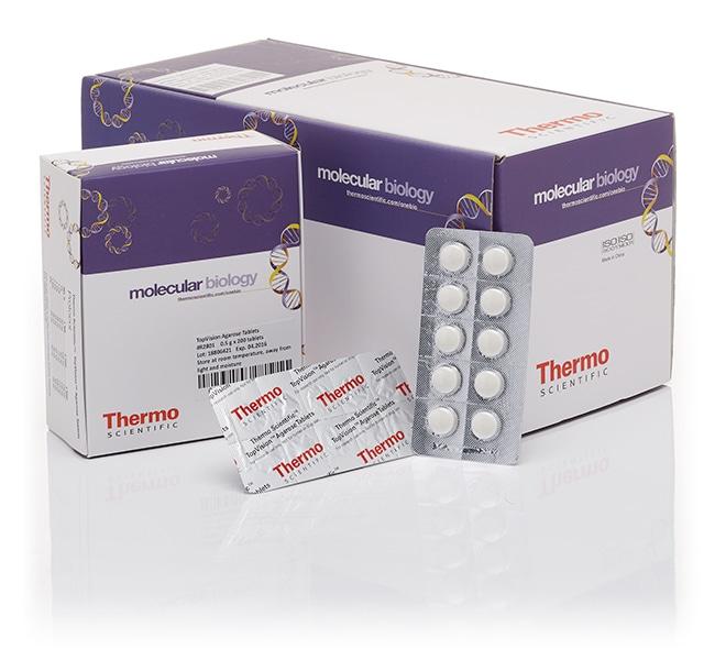 Thermo Scientific™TopVision Agarose Tablets Agarose-Tabletten; 1000 Tabletten (je 0.5g) Thermo Scientific™TopVision Agarose Tablets