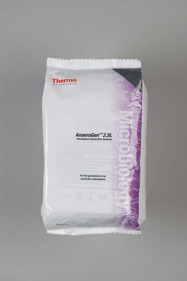 Thermo Scientific™Oxoid™ AnaeroGen™ 2.5L Sachet 10 satchets Environmental Systems for Microbiology