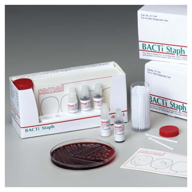Thermo Scientific BactiStaph Latex Agglutination Test Kit  150 tests/Kit:Testing