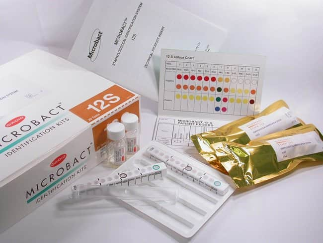 Thermo Scientific™ Oxoid™ Microbact™ Staphylococcal 12S Kit 20 Tests/Kit Staphylococcus Aureus Testing